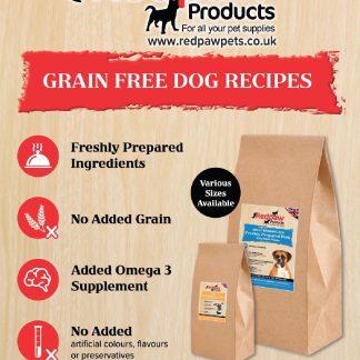 Redpaw Grain Free Freshly Prepared Complete Foods